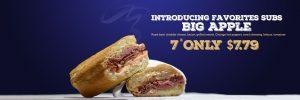 Half Fast Subs Big Apple Sandwich